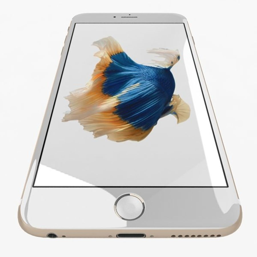 Apple iPhone 6s Plus Collection royalty-free 3d model - Preview no. 7