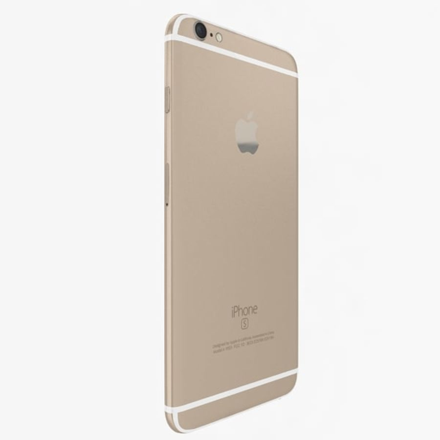 Apple iPhone 6s Plus Collection royalty-free 3d model - Preview no. 4