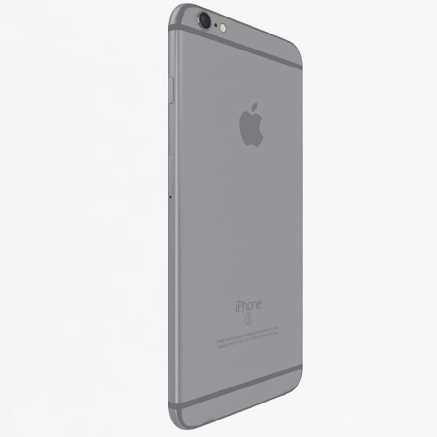 Apple iPhone 6s Plus Collection royalty-free 3d model - Preview no. 33