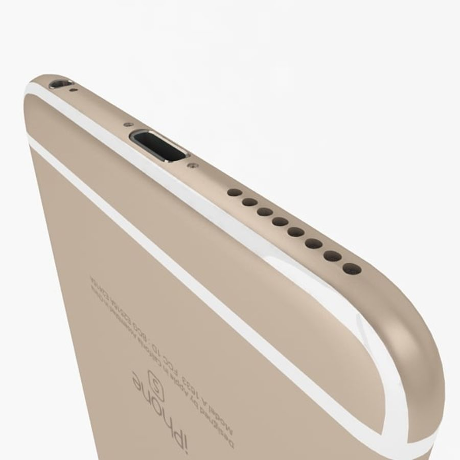 Apple iPhone 6s Plus Collection royalty-free 3d model - Preview no. 8