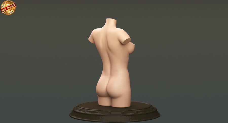 Female Torso royalty-free 3d model - Preview no. 6