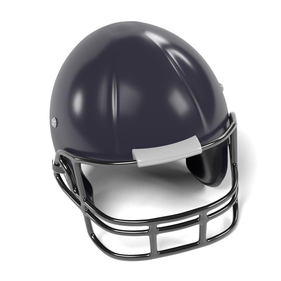 Casque de football américain royalty-free 3d model - Preview no. 3