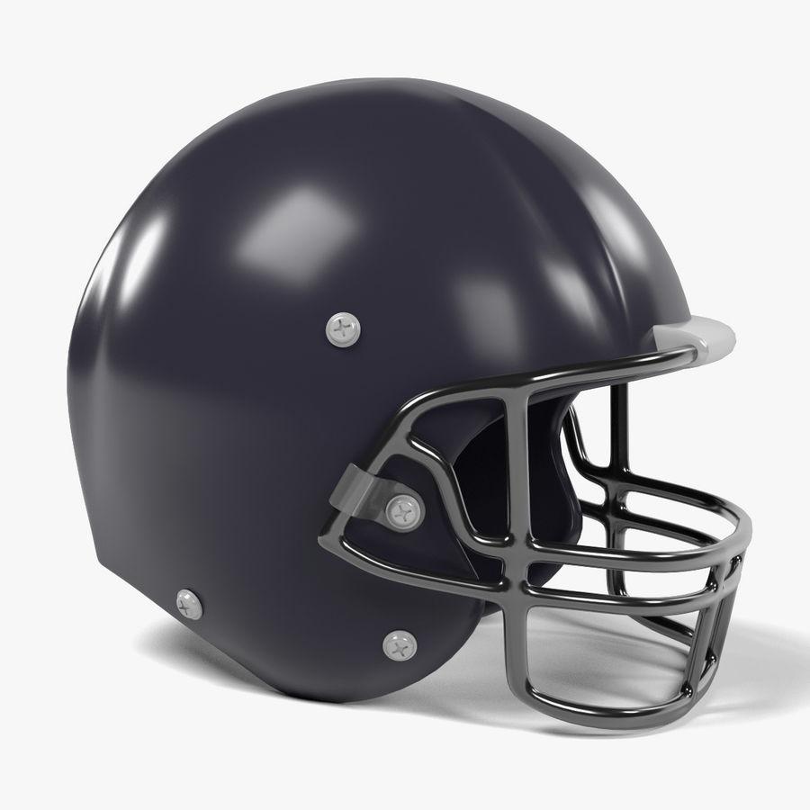 Casque de football américain royalty-free 3d model - Preview no. 1
