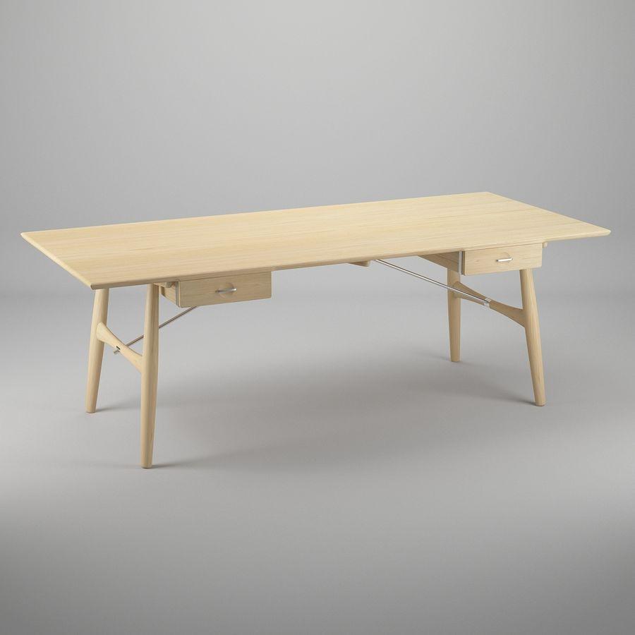 Desk PP571  -  Hans J Wegner royalty-free 3d model - Preview no. 2