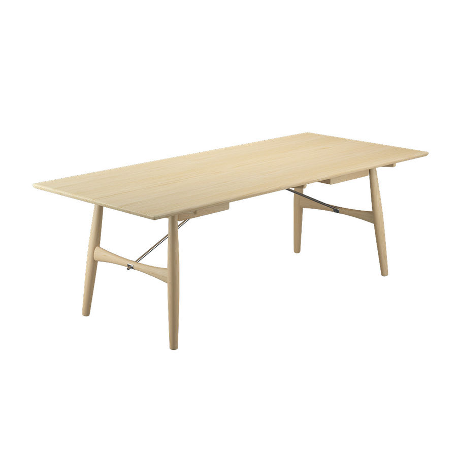 Desk PP571 - Hans J Wegner royalty-free 3d model - Preview no. 9