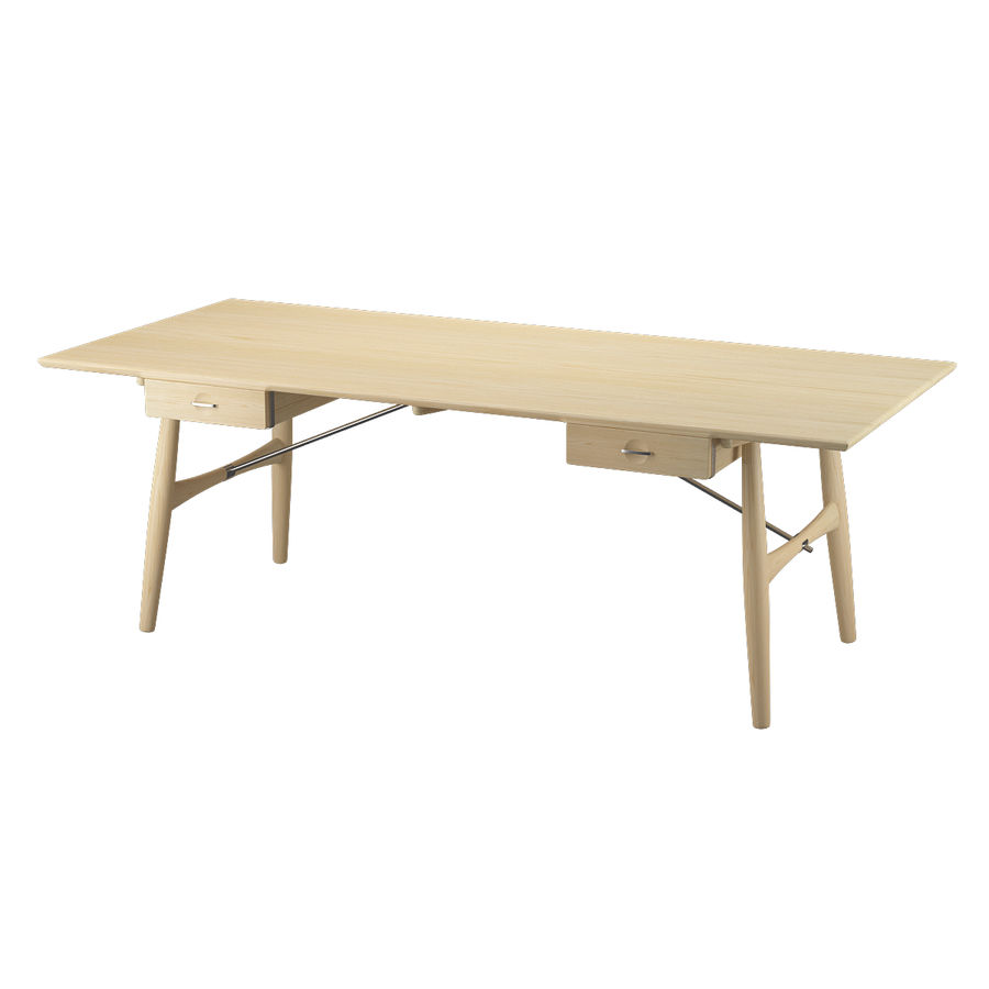 Desk PP571 - Hans J Wegner royalty-free 3d model - Preview no. 4