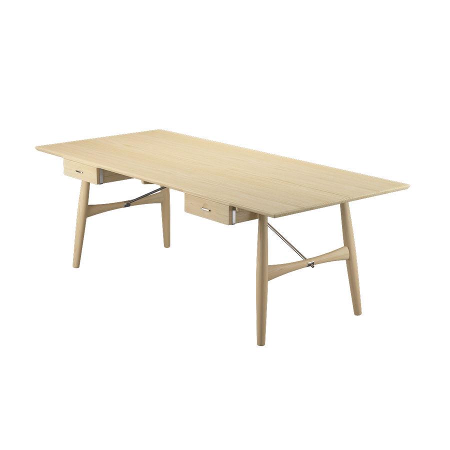 Desk PP571  -  Hans J Wegner royalty-free 3d model - Preview no. 5