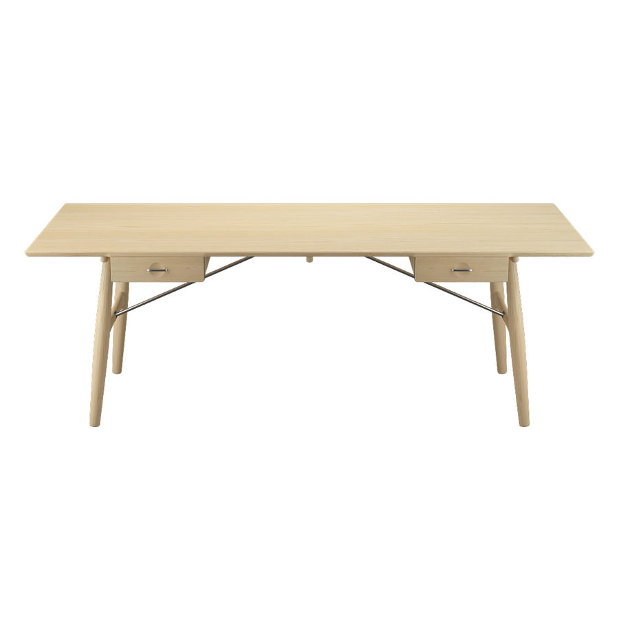 Desk PP571 - Hans J Wegner royalty-free 3d model - Preview no. 3