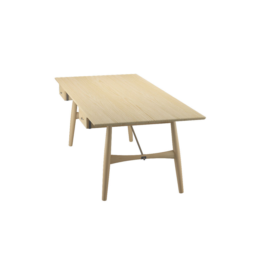 Desk PP571 - Hans J Wegner royalty-free 3d model - Preview no. 6