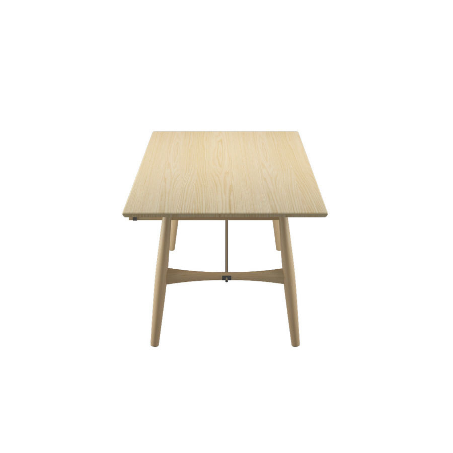 Desk PP571 - Hans J Wegner royalty-free 3d model - Preview no. 7