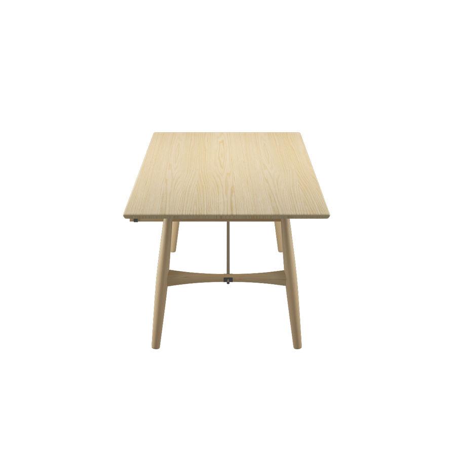 Desk PP571  -  Hans J Wegner royalty-free 3d model - Preview no. 7