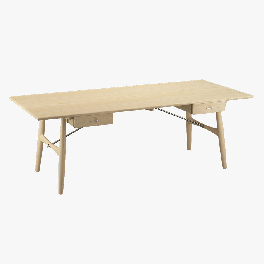 Desk PP571 - Hans J Wegner royalty-free 3d model - Preview no. 1