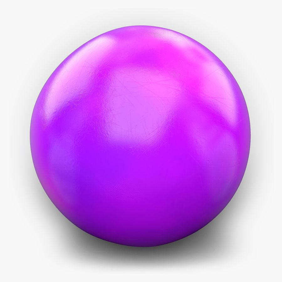 Bowling Balls Pins Lane royalty-free 3d model - Preview no. 6