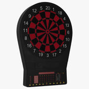 Electronic Dartboard Generic 3d model