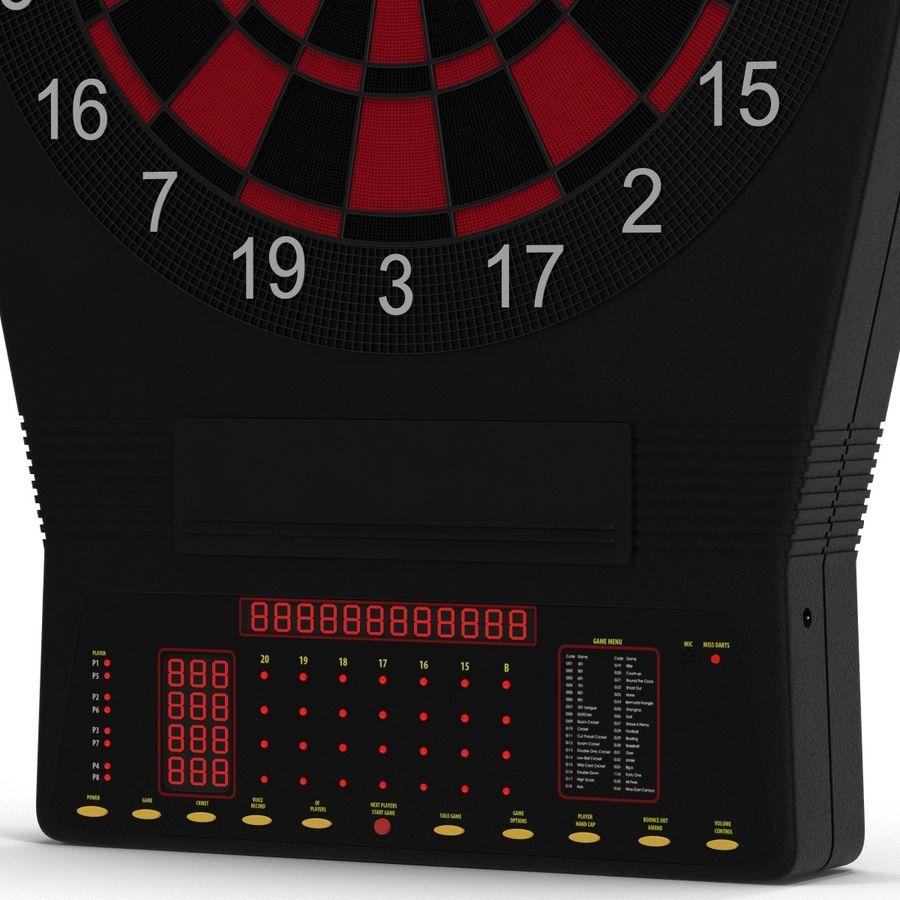 Dartboard Eletrônico Genérico royalty-free 3d model - Preview no. 7