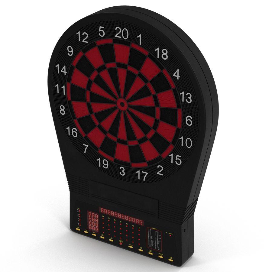 Dartboard Eletrônico Genérico royalty-free 3d model - Preview no. 3