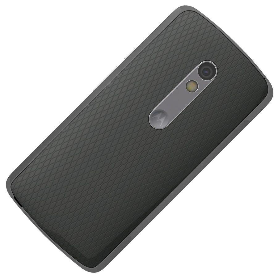 Motorola Moto X Play Black royalty-free 3d model - Preview no. 20