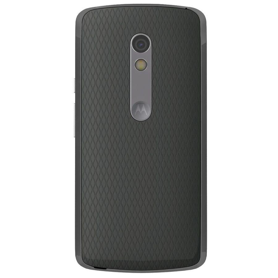 Motorola Moto X Play Black royalty-free 3d model - Preview no. 8