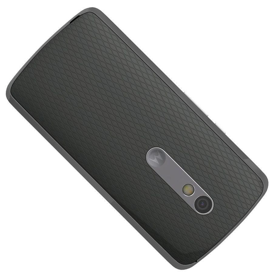 Motorola Moto X Play Black royalty-free 3d model - Preview no. 21