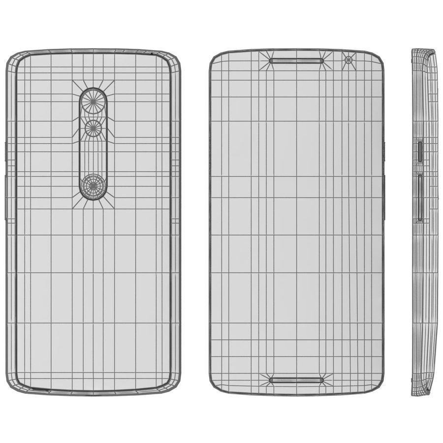Motorola Moto X Play Black royalty-free 3d model - Preview no. 24