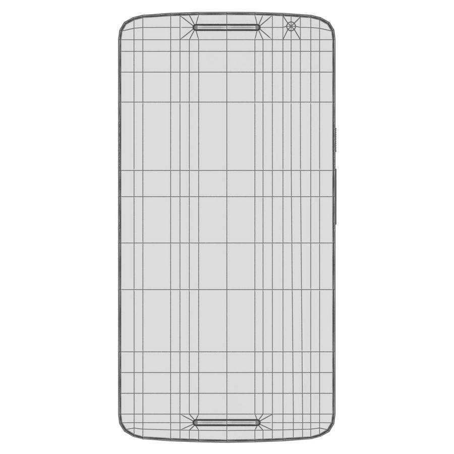 Motorola Moto X Play Black royalty-free 3d model - Preview no. 28