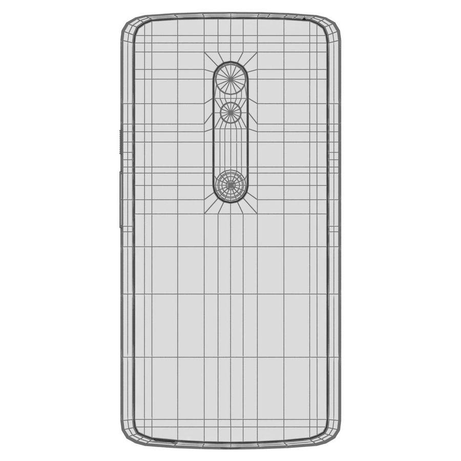 Motorola Moto X Play Black royalty-free 3d model - Preview no. 29