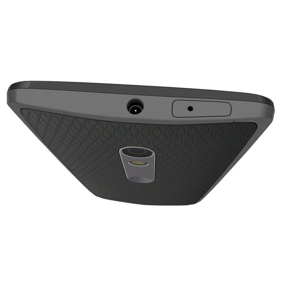 Motorola Moto X Play Black royalty-free 3d model - Preview no. 13