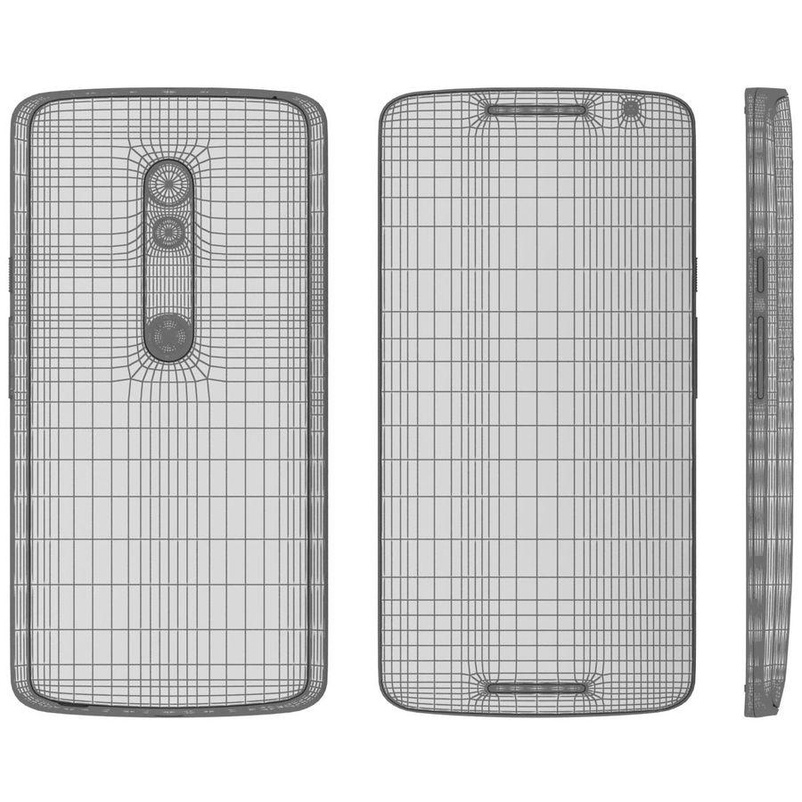 Motorola Moto X Play Black royalty-free 3d model - Preview no. 26
