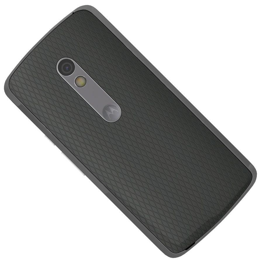 Motorola Moto X Play Black royalty-free 3d model - Preview no. 23