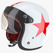 Helmet with Protection 3d model