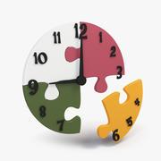 Puzzle Clock 3d model