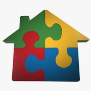 Puzzle domestico 3d model