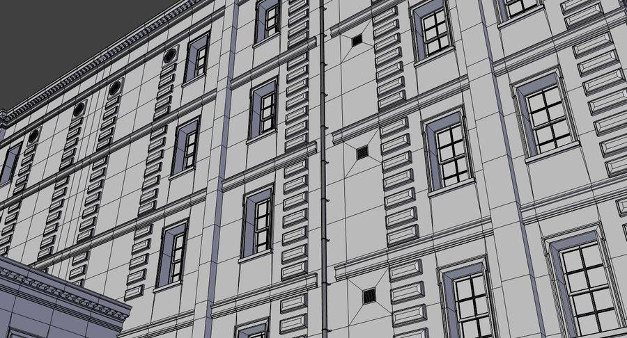 インテリアのあるブリックアパートメント2 royalty-free 3d model - Preview no. 23