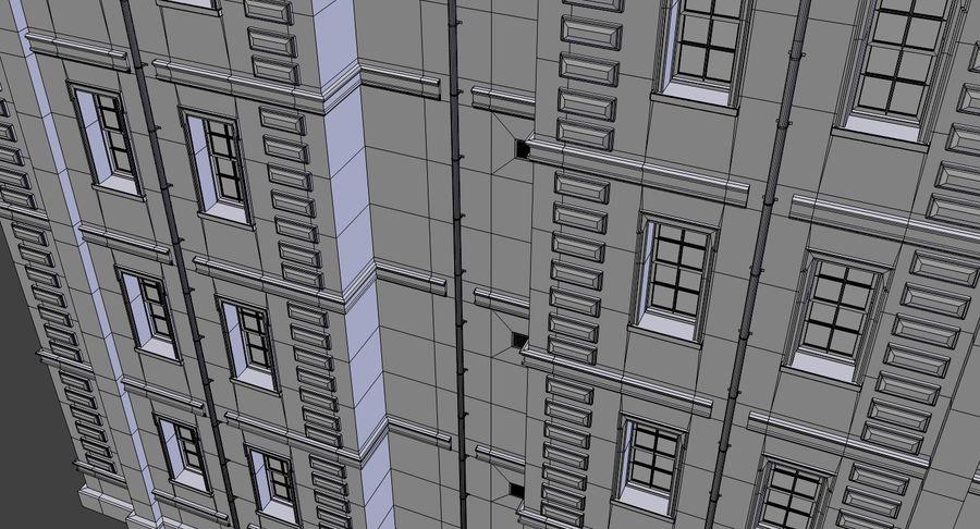 インテリアのあるブリックアパートメント2 royalty-free 3d model - Preview no. 24