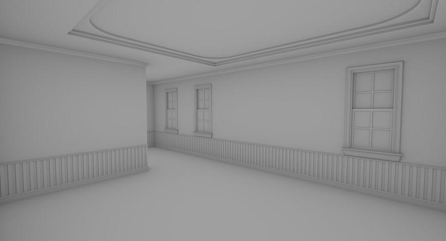 インテリアのあるブリックアパートメント2 royalty-free 3d model - Preview no. 13