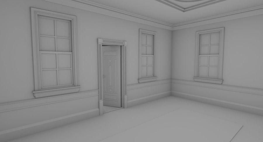 インテリアのあるブリックアパートメント2 royalty-free 3d model - Preview no. 9
