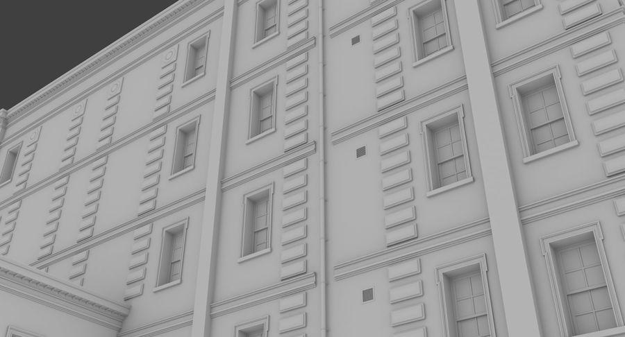 インテリアのあるブリックアパートメント2 royalty-free 3d model - Preview no. 7