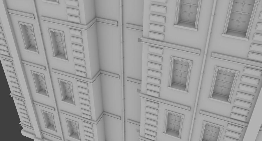 インテリアのあるブリックアパートメント2 royalty-free 3d model - Preview no. 8