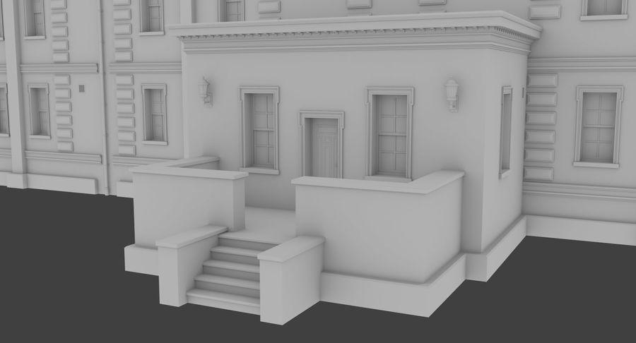 インテリアのあるブリックアパートメント2 royalty-free 3d model - Preview no. 6