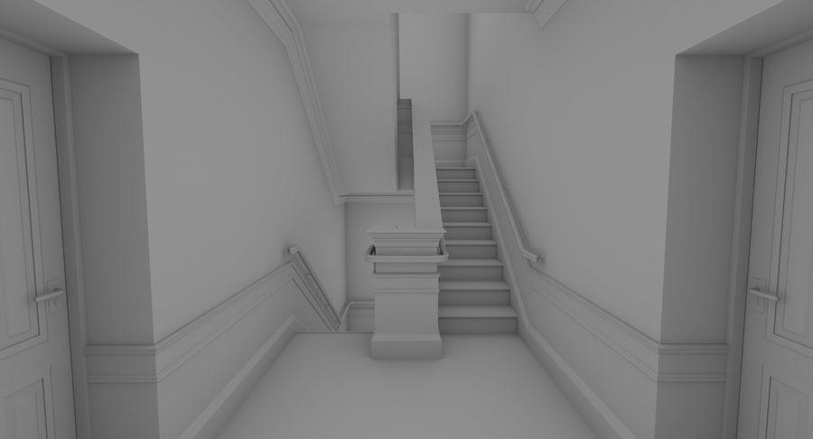 インテリアのあるブリックアパートメント2 royalty-free 3d model - Preview no. 11