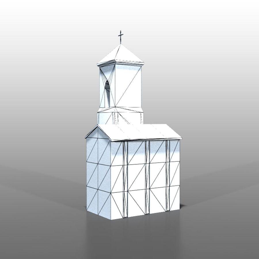 Church v1 royalty-free 3d model - Preview no. 5