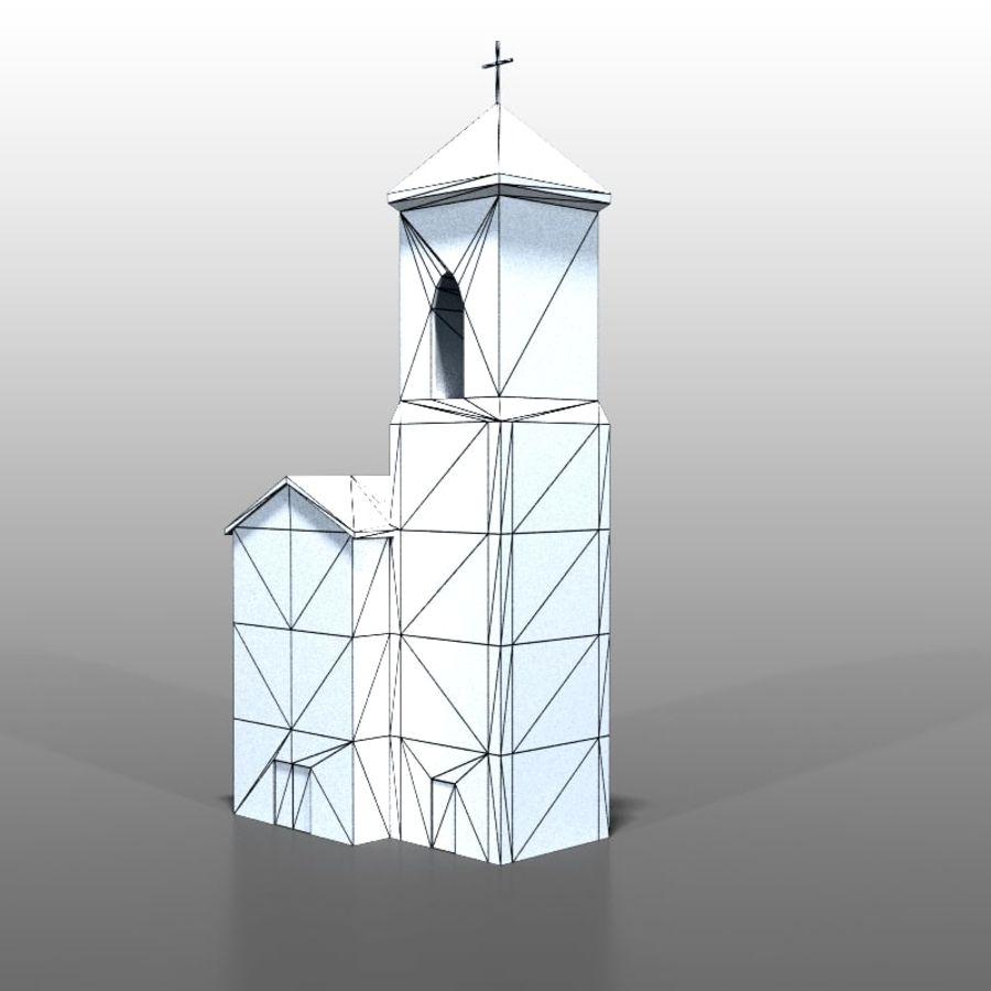 Church v1 royalty-free 3d model - Preview no. 7