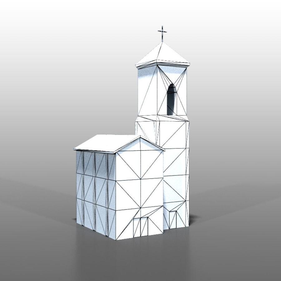 Church v1 royalty-free 3d model - Preview no. 6