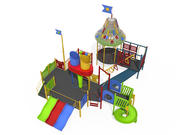 Play Area for Children 3d model