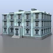 Casa da Rússia v11 3d model