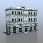 Maison de la Russie v13 3d model