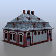 Duits huis v5 3d model