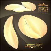 lamp radius flame 3d model