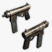 소형 기관단총 3d model