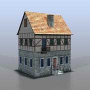Немецкий дом v16 3d model